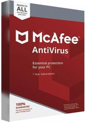 McAfee Antivirus - Unlimited Device/1 Year (EU)