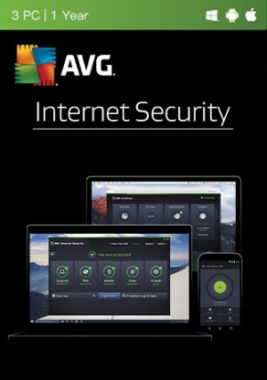 AVG Internet Security Multi Device - 3 Devices/1Year