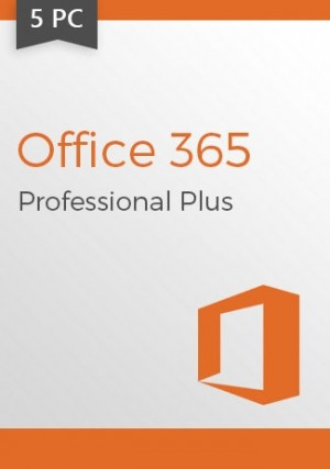 Microsoft Office 365 (1 Year Subscription) 5 Devices (Windows)