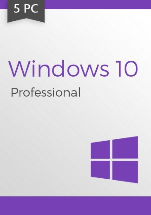 Windows 10 Pro Professional CD-KEY (32/64 Bit) (5 PC)